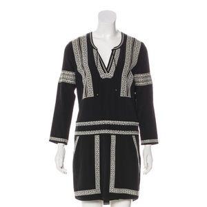 Veronica Beard | Embroidered Dress